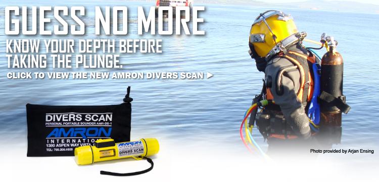 Amron International Divers Scan Personal Portable Sounder