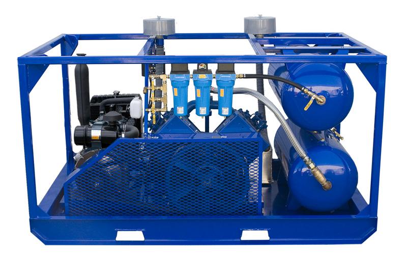 Quincy 5120 Low Pressure Kubota Diesel Air Compressor