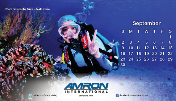 2012 Amron Diving Calendar