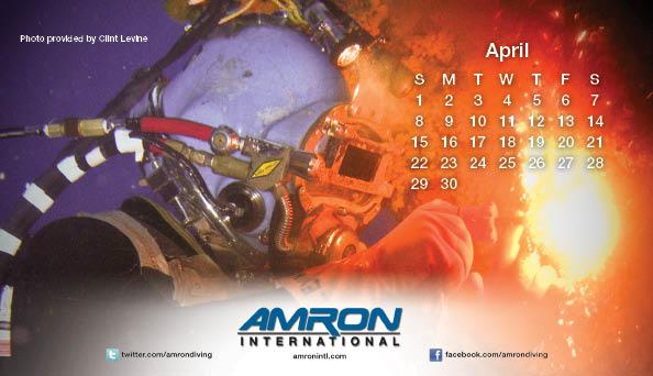 Amron Diving Calendar April