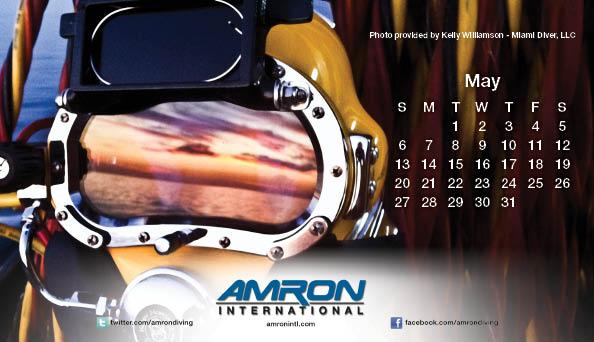 Amron Diving Calendar May