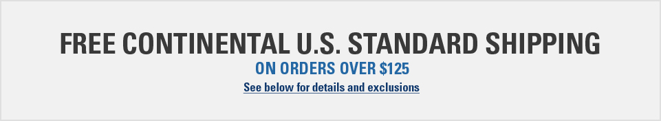Amron International Free Continental U.S. Standard Shipping on orders $125or more!