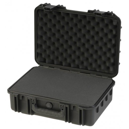3I-1711-6B-C MIL-STD Waterproof Case - 6 in. Deep - Cubed Foam - Black