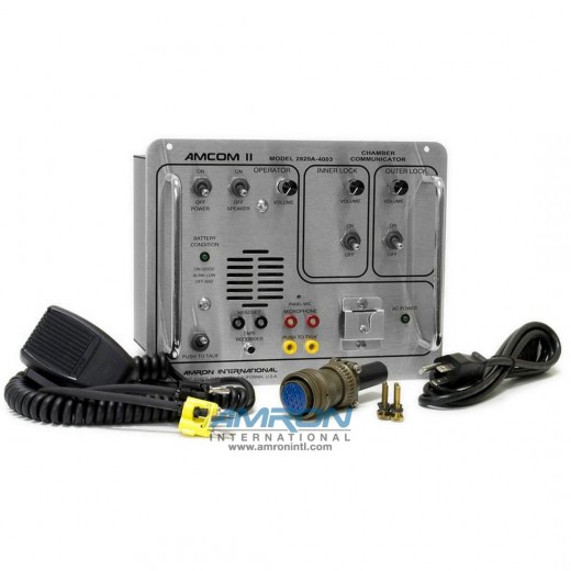 Amcom ™ II 2820A-4003 Double Lock Chamber Communicator
