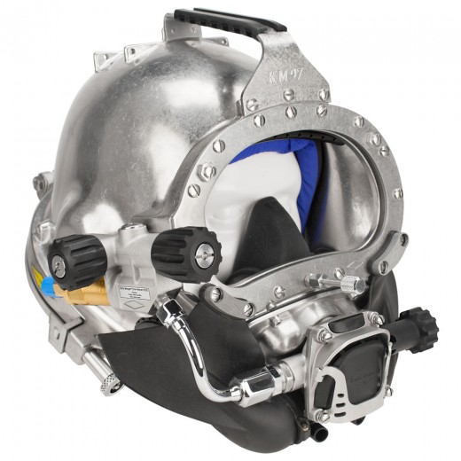 KM 97 Commercial Diving Helmet with Posts