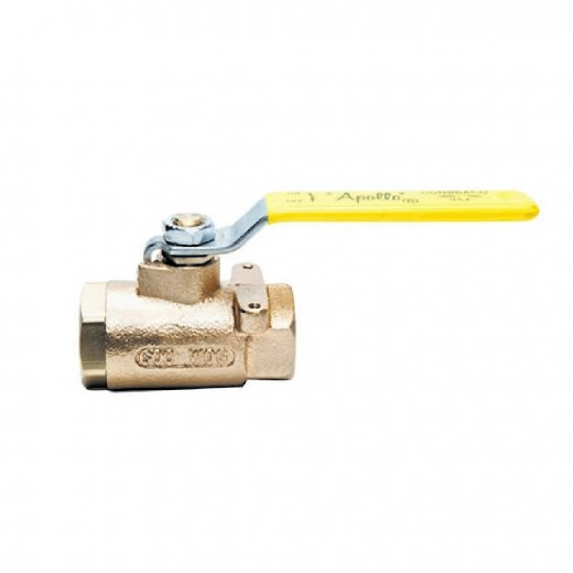 71-148-10 - 71 Series Ball Valve - 2 in. Female NPT - Stainless Steel Ball Stem Lever and Nut