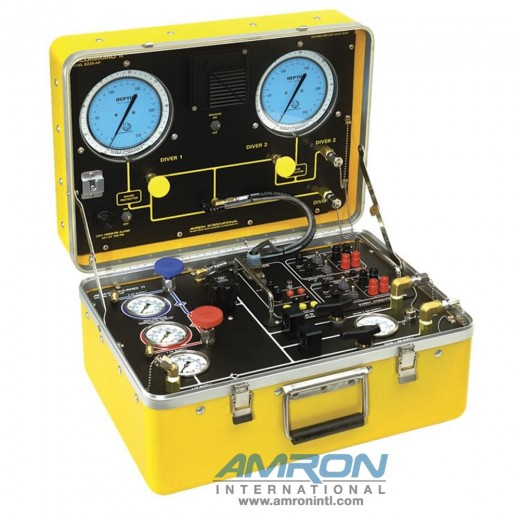 Amcommand ™ II Model 8225-HP Two Diver Air Control and Communications System