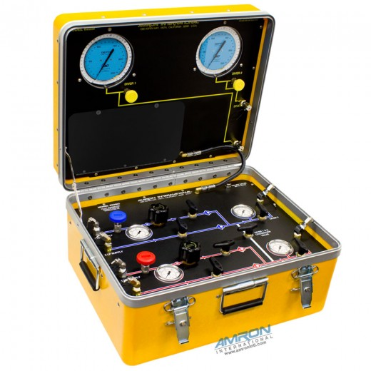 Model 8225i Air Control and Depth Monitoring System for 2 Divers without Communications