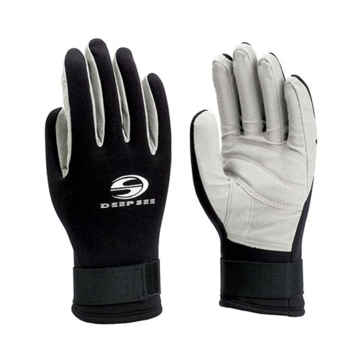 Waterfall Diving Gloves Black/Charcoal