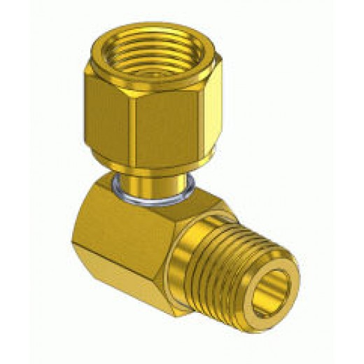 GF-5194 Male NPT to Female Swivel Oxygen