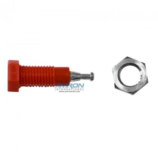 105-0602-001 Tip Jack - Red