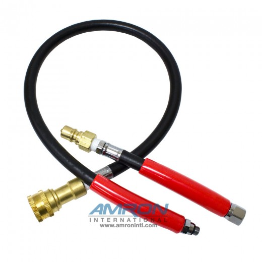 BO-37B Bailout Whip - 37 in. Brass Quick Disconnect without Locking Sleeve