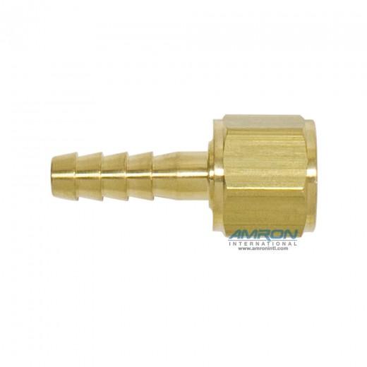 AHB-40202 1/4 Inch X Oxygen Thread Hose Barb