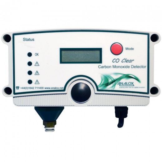 CO2535X56EXY16 Carbon Monoxide (CO) Clear Alarm - Nitrogen Environment 110V AC US Power