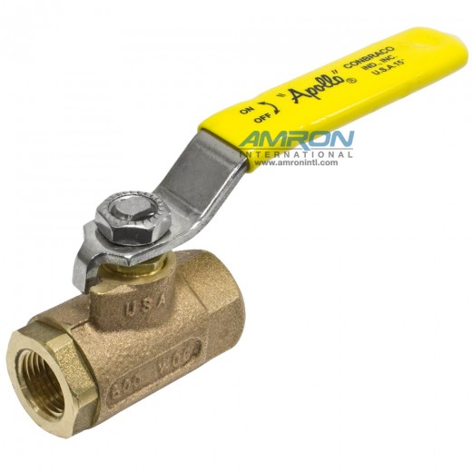 70-142-10 - 70 Series Ball Valve - 3/8 in. Female NPT - Stainless Steel Ball Stem Lever and Nut