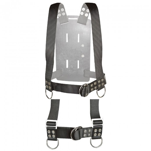 Backpack w/ Shoulder Adjusters - Large
