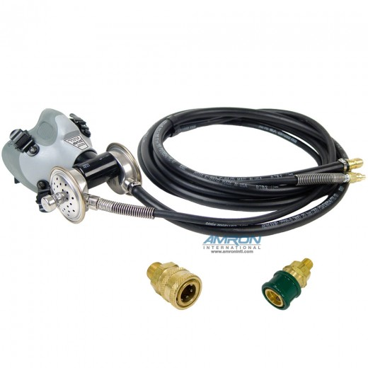 803139-01-01 Pressur Vak II™ - Medium Short Face Seal without 1st Stage Regulator Assembly without Microphone