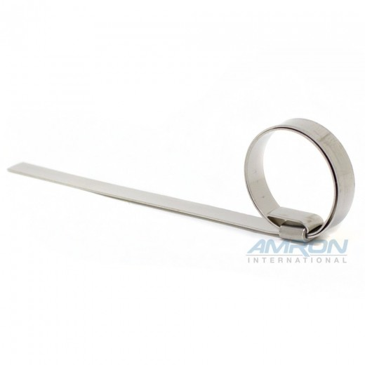 Band/Clamp - Stainless Steel - 1 in. Diameter - 1/4 in. Width