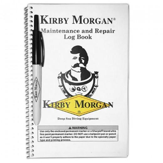 125-001 Maintenance and Repair Log Book with Pen