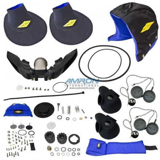 525-349 Overseas Spares Kit for Kirby Morgan Dive Helmets 17K and 37