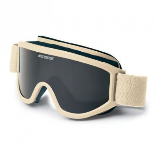 Land Ops Unit Issue Goggles - Desert Tan
