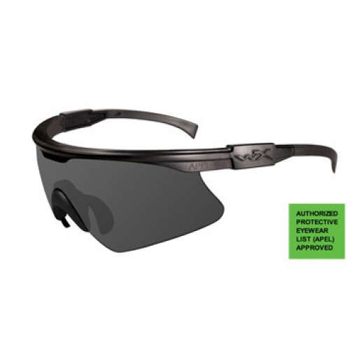 PT-1 Sunglasses Matte Black Frame with Smoke Lens