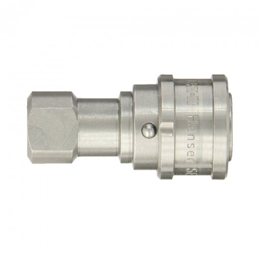LL1-H11-SL - ISO-B Interchange Hydraulic Fitting 1-HK 1/8 in. FNPT in Stainless Steel (303)
