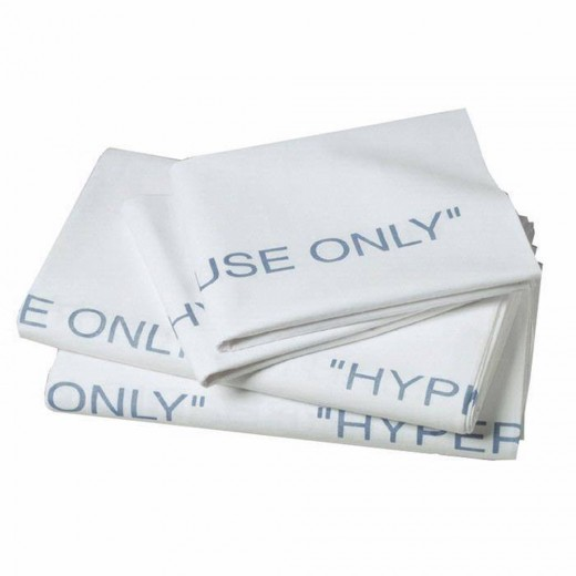 Single Hyperbaric Flat Sheet - 100% Cotton - 66 in. x 115 in.