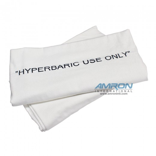 Case of 12 Hyperbaric Blankets - 100% Cotton Flannel - 72 in. x 90 in.