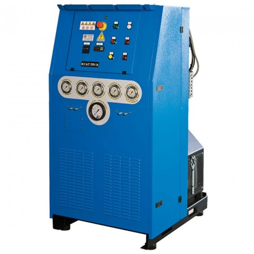 26 Open High Pressure Air Compressor - 20HP 400V 50HZ 3 Phase Open - 6000 PSI Maximum Pressure