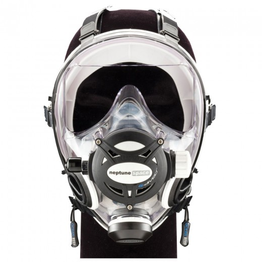 Neptune Space G Diver Full Face Mask - White