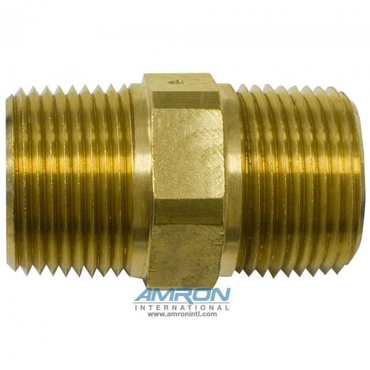 FF Pipe Nipple Brass - 1 inch