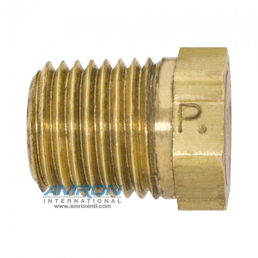 HP Hex Head Plug 3/8 inch NPT - Brass