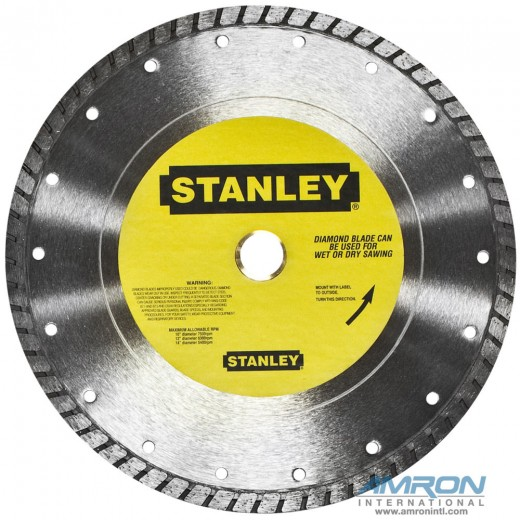 03694 10-Inch Diameter Diamond Wheel for Masonry 1-Inch Arbor for CO23 Hydraulic Underwater Cutoff Saw