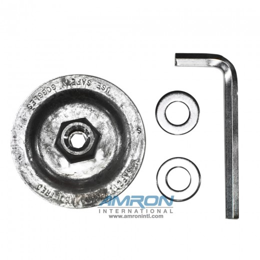 05194 Adaptor 5/8 in. - 11 in. Thread - Depressed Center Wheel