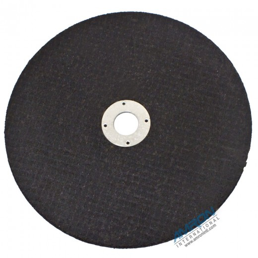 04117 Abrasive Cutting Wheel 10-Inch Diameter for Metal and Aluminum - Composite Material - 1 Inch Arbor for CO23
