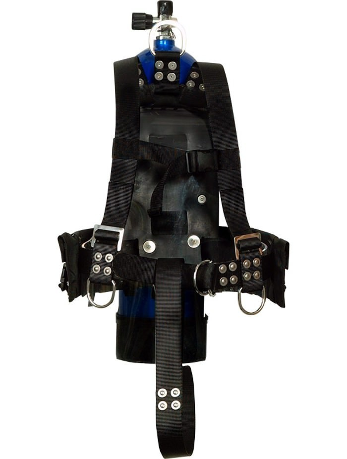 Atlantic Diving Equipment MK-21 Integrated Dive Vest Integrated Diving Vest - Large 16509-L