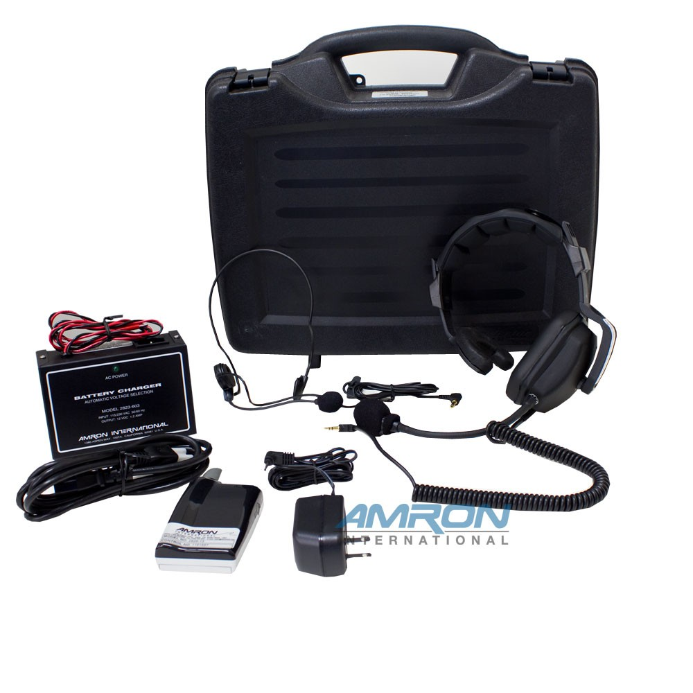 Amron International Amcommand II 8225-HP/28A Two Diver Air Control and Communications System with Wireless Tender 8225-HP/28A