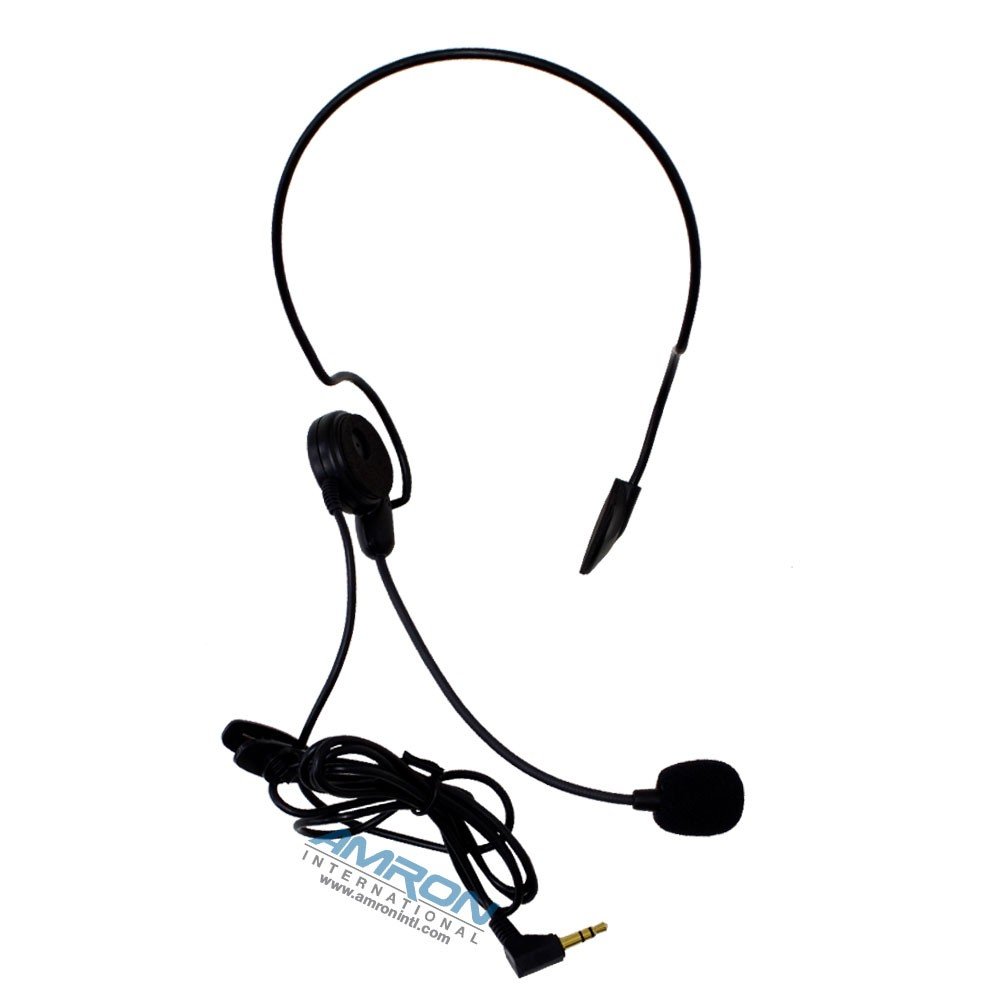 Amron International 2829-14 Remote Wireless Ultra-Light Headset