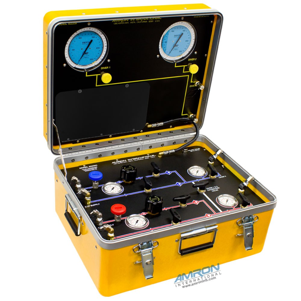 Amron International Model 8225i Air Control and Depth Monitoring System for 2 Divers without Communications