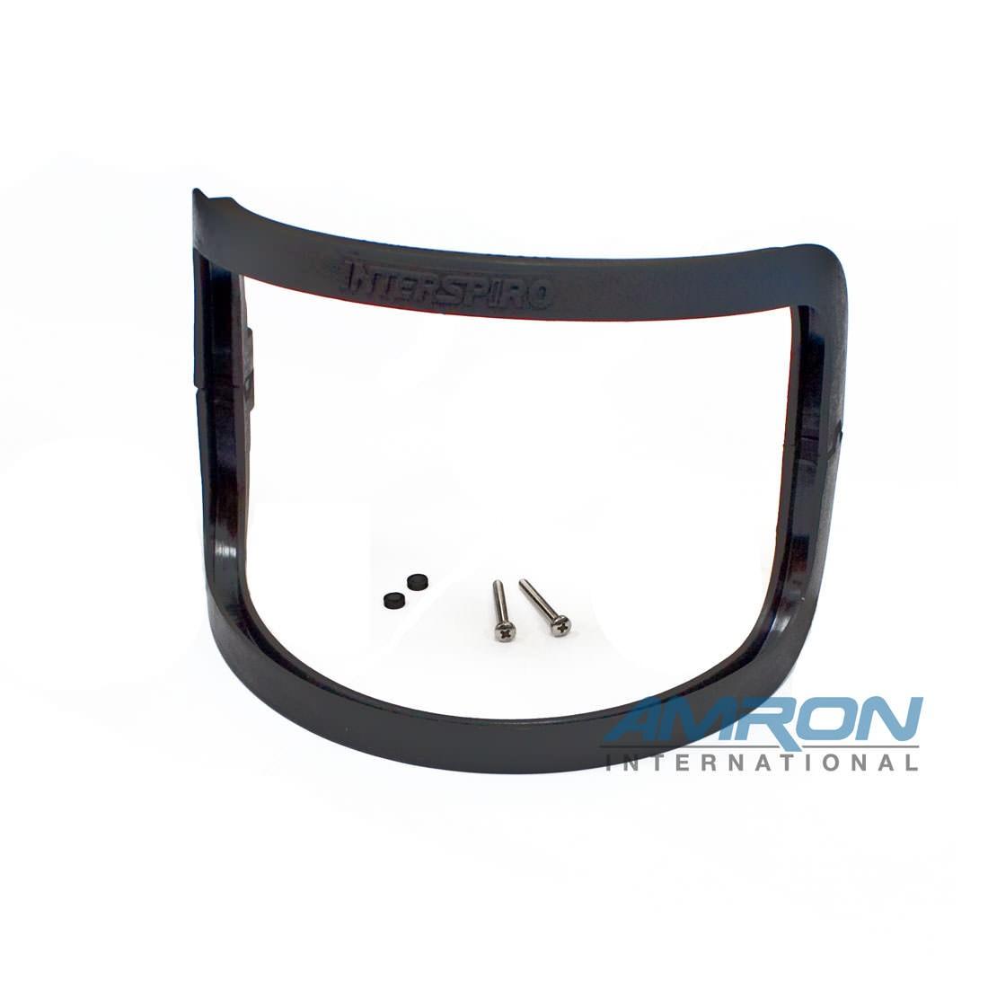 Interspiro AGA 460-190-547 Visor Frame Kit MKII Black - Includes No. 14-15