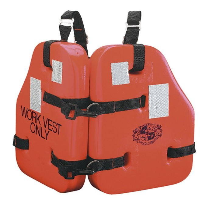 Stearns I223 Work Force II Vest Orange Universal I223ORG-00-000