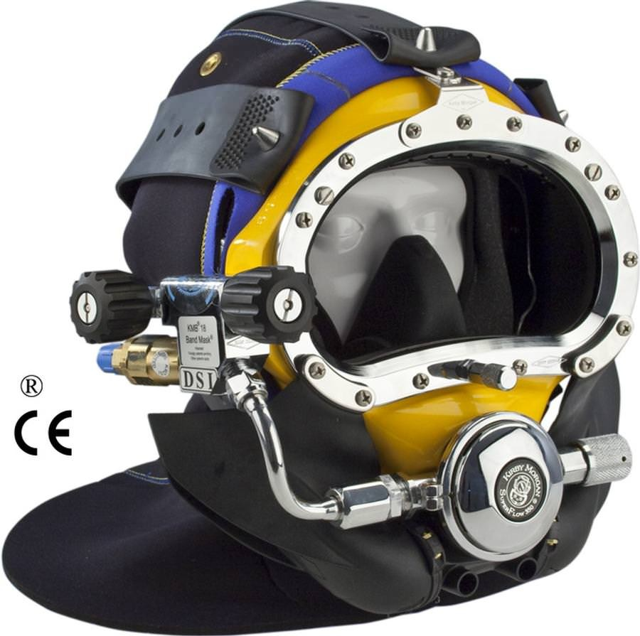Kirby Morgan BandMask 18 with Male Waterproof Connectors