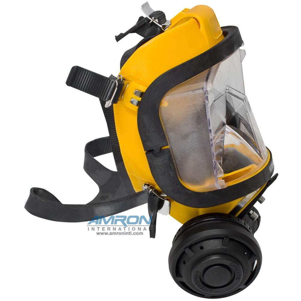 Interspiro AGA Divator MK II Full Face Mask with Demand Regulator - Silicone - Yellow - 96319-01