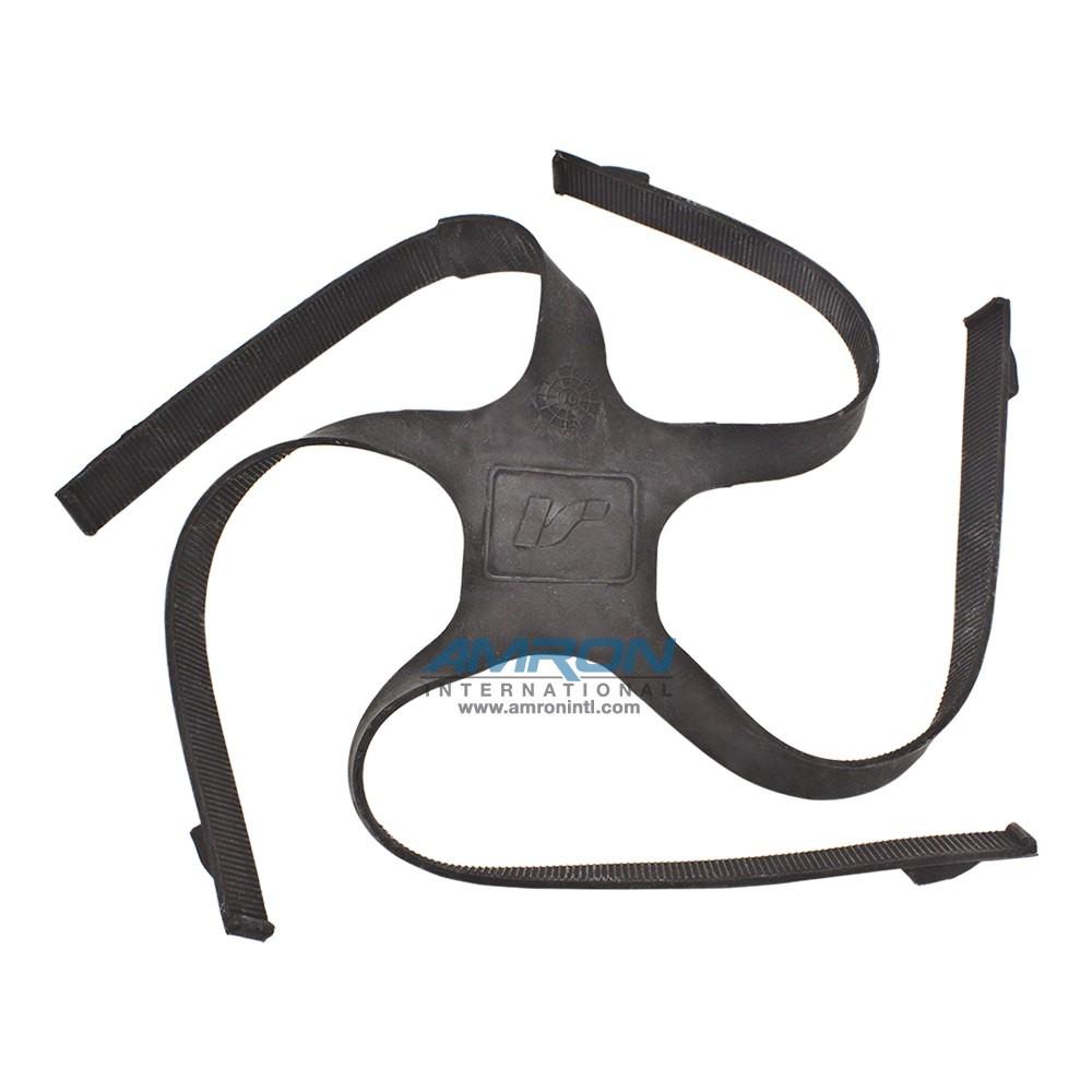 Interspiro AGA 460-190-520 Head Harness - Black NR/CR