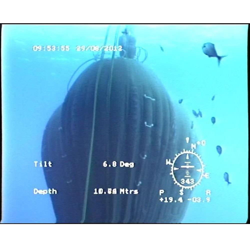 Air Lift Bag Action Shot - Photo Courtesy of Unique Seaflex