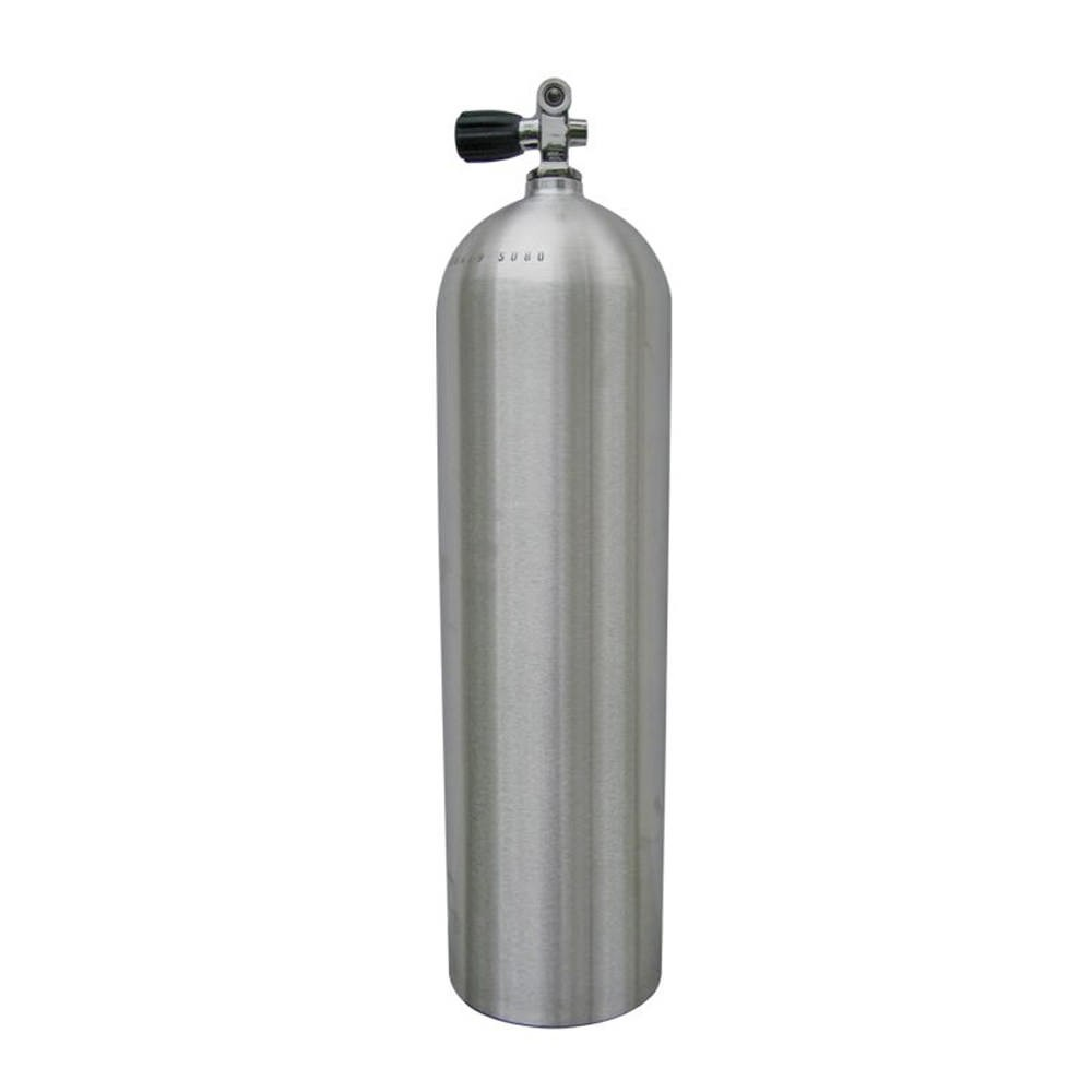 Wothington Aluminum Scuba Tank with Valve Neutral 80 Cubic ft ALN80-BNC