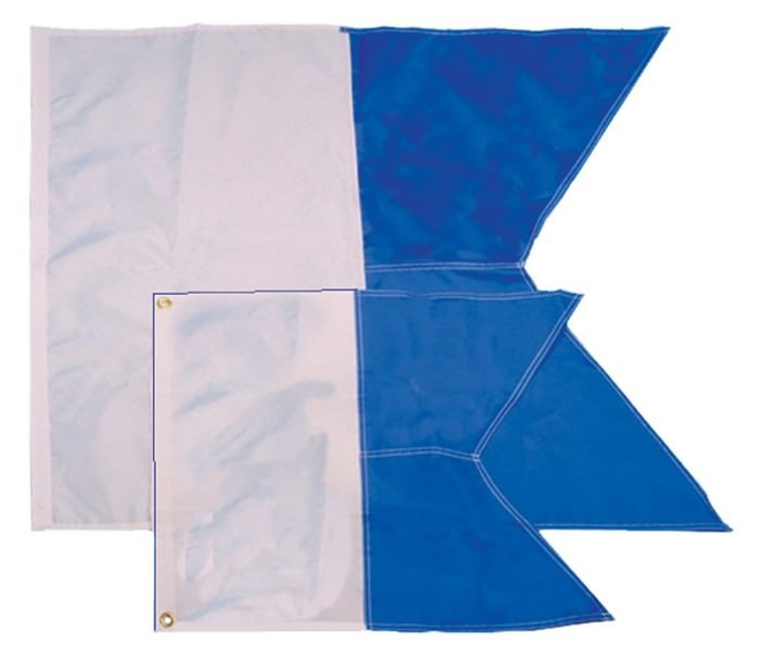 Trident Alpha Dive Flag 20 inch X 24 inch DF70