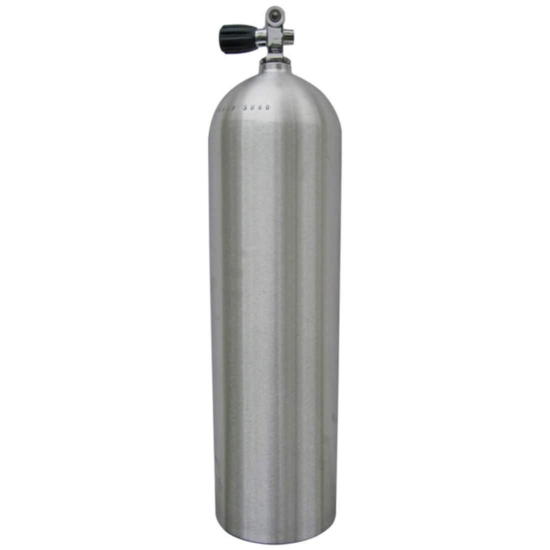 Worthington AL100 Aluminum SCUBA Cylinder with Pro Valve - Brushed No Coat AL100BNC