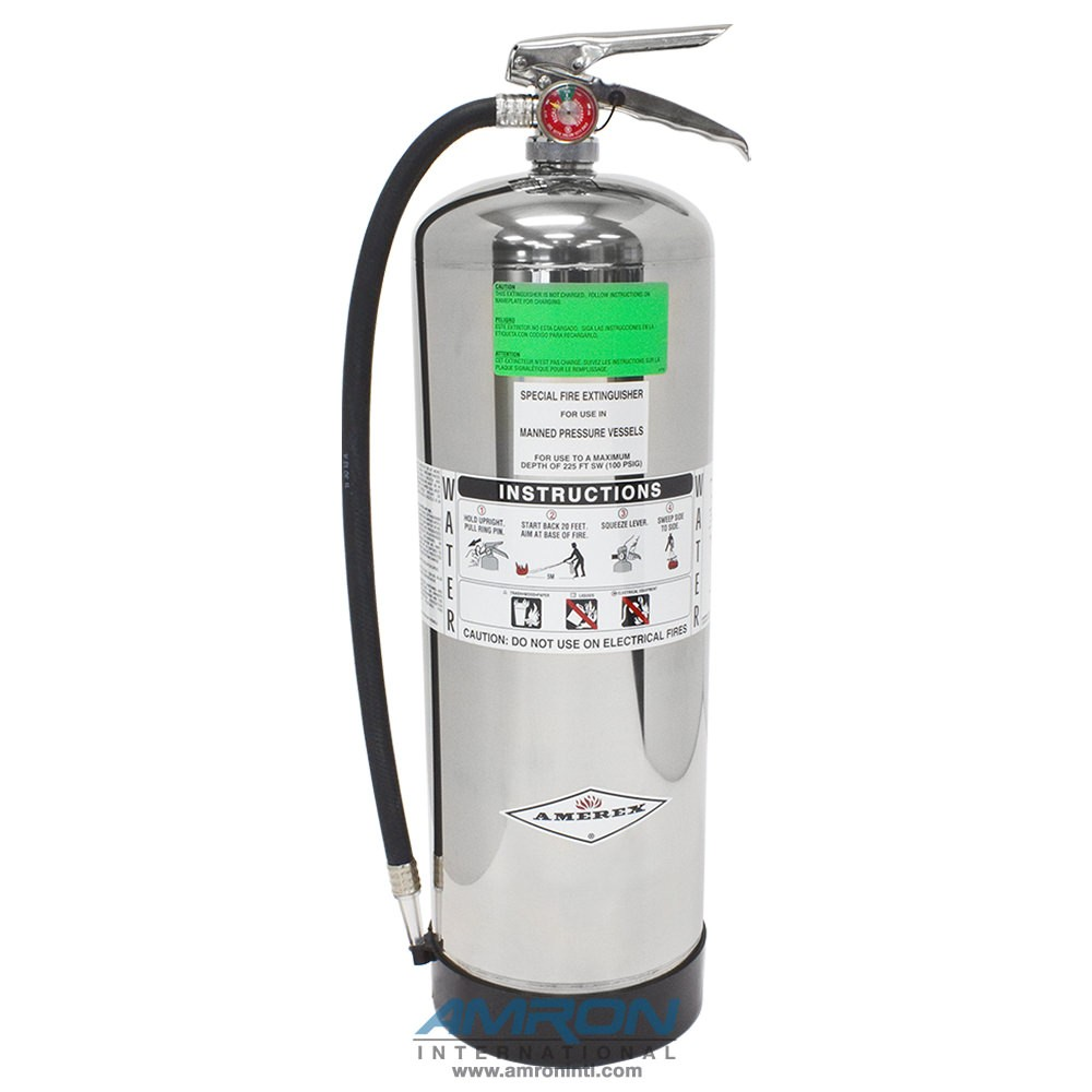 Amerex Hyperbaric Water Based Fire Extinguisher Model-240H